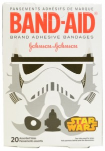 White band aids