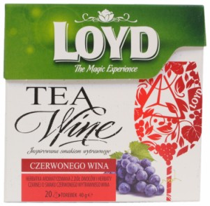 Loyd Tea Wine Red Wine Flavoured Tea