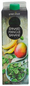 Green Shoot Green Smoothie Epinard Mangue Banane