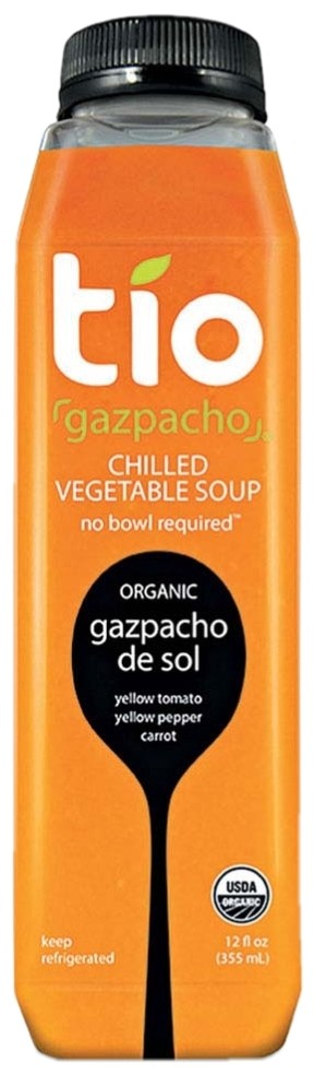 Organic Gazpacho de Sol Chilled Vegetable Soup