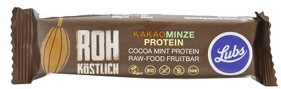 Cocoa & Mint Protein Raw Food Fruit Bar small