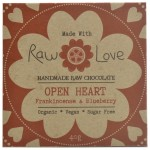 Handmade raw chocolate