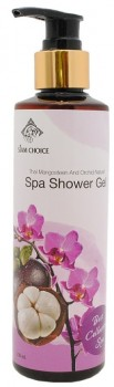 Siam Choice, Thai Mangosteen and Orchid Natural Spa Shower Gel