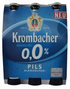 Krombacher 0.0% Alcohol-Free Pilsner Beer