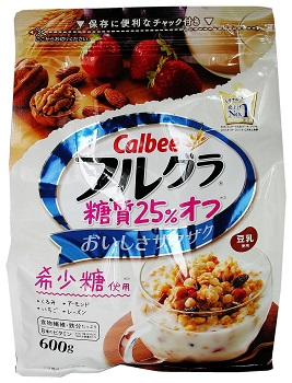 Calbee Frugra Fruit Granola with 25% Reduced Sugar