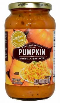 Stop & Shop Limited Time Originals Fall Favorites Pumpkin Pasta Sauce