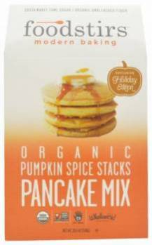 Foodstirs Modern Baking Organic Pumpkin Spice Stacks Pancake Mix